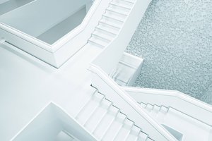 Liane Metzler Unsplash - White stairs