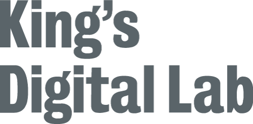 Links to King's Digital Lab